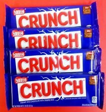 Nestle Crunch 4ct Candy Bar Set FREE THERMAL SHIPPING