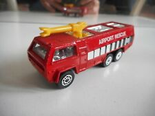 Corgi Chubb FIre Truck in Red