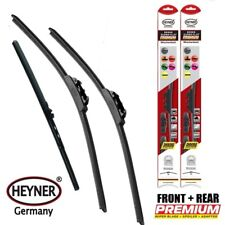 "VW Passat Estate 2011-2014 set of 3 wiper blades 24""19"" and rear 11""V"