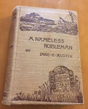 A Nameless Nobleman By Jane G. Austin From 1891