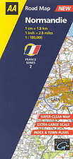 Good, Normandie: 2 (AA Road Map France Series), Aa, Road Maps, Book