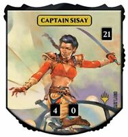 1x Ultra Pro - Relic Tokens: Legendary Collection - Captain Sisay - Foil - Card