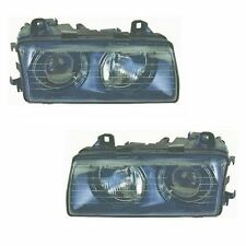 BMW 3 Series E36 4 / 5 Door Saloon 1994-2000 Headlights Headlamps Pair O/S & N/S