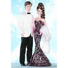 Barbie & Ken 2003 Mattel Fashion Model Silkstone 45th Ann. Giftset  MINT NRFB