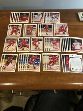 1990-91 Upper Deck Red Wings Team Set +more 46 Cards Total Primeau,Yzerman ETC.