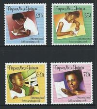 1989 PAPUA NEW GUINEA International Letter Writing Week Set MNH (SG 589-592)