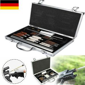 28tlg. Waffenreinigungsset Reinigungsset Waffenpflege Pistole Gewehr bürste Satz