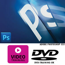 Adobe Photoshop CS5 – Professional Video Training Tutorial DVD - FREE P+P