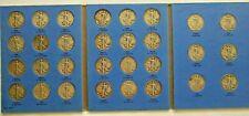 1937-1947 Silver Liberty Walking Half Dollars 50c Complete Short Set of 30 Coins
