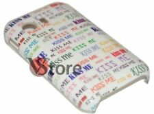 Cover Custodia Rigida KISS ME Per Samsung Galaxy Y S5360