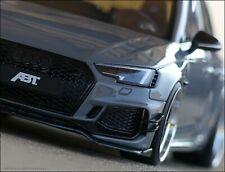 1:18 Tuning Audi RS4 ABT Nardo Grau Edition + BBS Alu-Felgen  Limitiertes Modell