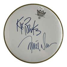 """Brooks & Dunn Signed Kix Brooks Ronnie Dunn10"""" Drumhead JSA"""