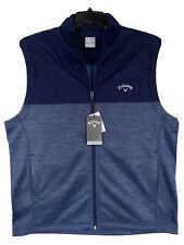 Callaway Golf Men's Quilted Vest Blue Large L MSRP: $80 NEW