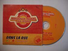MARSEILLE REGGAE ALL STARS : DANS LA RUE ♦ CD SINGLE PORT GRATUIT ♦
