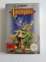 Castlevania - Nintendo NES Game [PAL A UKV] CIB Boxed/Manual