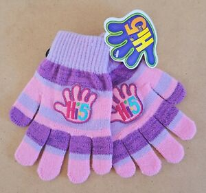 Hi-5 Kids/Girls Gloves Size 4-6 New With Tags