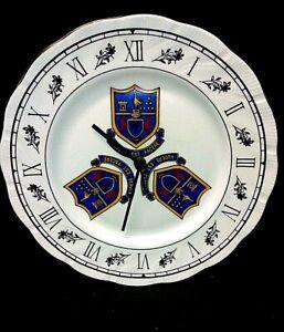 Rare Bone china Tottenham Hotspur plate Wall Clock 97-99 season
