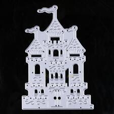 Vintage Castle Metal Cutting Dies Stencils DIY Scrapbooking Embossing Paper Card