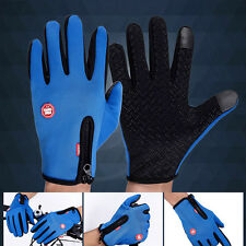 UK Winter Warm Windproof Waterproof Anti-slip Thermal Touch screen Gloves