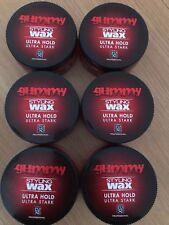 6 X 150 ML FONEX GUMMY STYLING WAX ULTRA HOLD (ULTRA STARK)