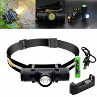2000Lm Zoomable XM-L2 LED Super Bright Headlamp Hunting Camping Headlight Torch
