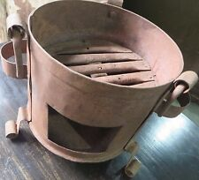 OLD Vintage Cooking heating forged Iron Sigdi Sigri stove Wood Burning Fire Pit