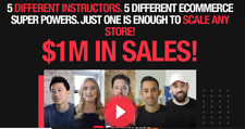 Ecommerce Masters 2020 - How to GROW & SCALE Your Store to the MILLION $ Mark !