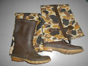 Wader hip boots hunting fishing Pro Line rare duck hunter camouflage Mens SZ 11