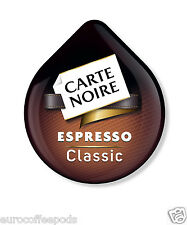 48 x Tassimo Carte Noire Caffè Espresso T-Disc (venduti alla rinfusa)