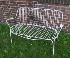 Gartenbank Bank Sofa Metall shabby Design mid century modern 50er 50s vintage