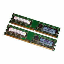 Hynix 1GB Kit (2 x 512MB) PC2-5300 DDR2 Desktop RAM HYMP564U64BP8-Y5 377725-888