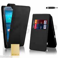 FLIP WALLET PU LEATHER CASE COVER FOR SAMSUNG GALAXY S3 i9300 S4 i9500 S4 Mini