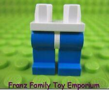 LEGO Minifig Blue LEGS White HIPS Aquazone Aquanauts Body Part