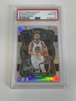 Stephen Curry 2017-18 Panini Select Silver Prizm #143 Warriors PSA 10 : POP 13