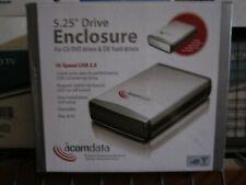 """External USB IDE Enclosure Case for 5.25"""" CD DVD ROM Burner Writer DVD CD NEW"""