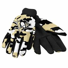 Pittsburgh Penguins Camouflage Sports Utility Gloves Work gardening NEW CAMO