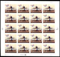 3262, $11.75 1998 Express Mail Full Sheet of 20 Stamps CV $675.00 - Stuart Katz