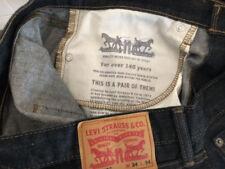 Levis 502 34x34 Chain Rinse Regular Taper EUC Jean, Authentic, 100% Cotton.