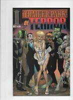 TRAILER PARK OF TERROR #1, VF/NM, Zombies, Demons, Horror Signed James Dracoules