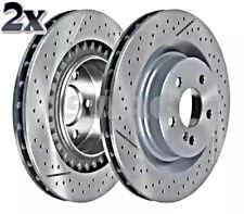 SWAG x2 Stk Bremsscheibe Hinterachse Für MERCEDES A209 C209 R171 1714230212