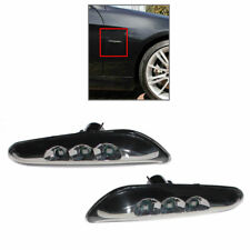 LED Side Marker Turn Signals Lights Fits BMW E46 Sedan & E46 Wagon 2002-2005