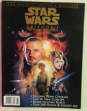 Star Wars Episode 1 The Phantom Menace Official Souvenir Program From 1999