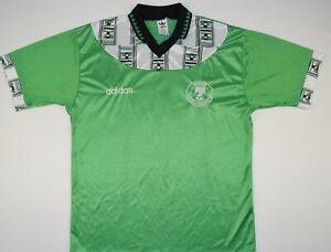 1994-1996 NIGERIA ADIDAS HOME FOOTBALL SHIRT (SIZE L)