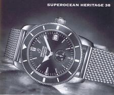 BREITLING SUPEROCEAN HERITAGE 38 PAPER ANLEITUNG INSTRUCTIONS I298