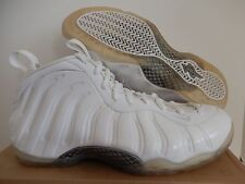 check out db0b4 a065d Nike Air Foamposite One Blanco-Blanco-Plateado Metálico Talla 8  314996-100
