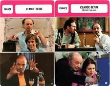 FICHE CINEMA x2 : CLAUDE BERRI - France (Biographie/Filmographie)