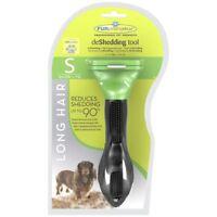 Genuine Furminator De-Shedding Tool: SMALL Dog LONG Hair FREE P&P