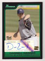 2006 Bowman Darrell Rasner Auto Rookie NY Yankees