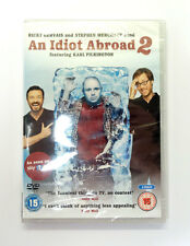 AUCTION - AN IDIOT ABROAD SERIES  2 - DVD - BRAND NEW & SEALED - REGION 2
