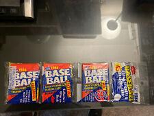 Vintage Fleer Baseball 1986 One Sealed Rack Pack  🔥Rookies🔥